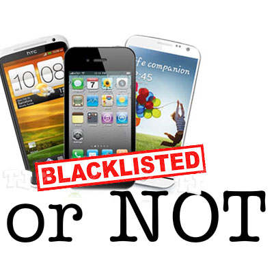 imei check blacklist or whitelist
